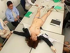 Crazy Japanese model Kana Mimura, Rin Yamaki in Exotic Office, Fetish JAV movie