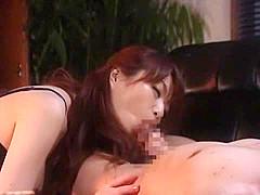 Horny Japanese chick Sora Aoi in Hottest MILF JAV clip