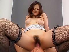 Horny Japanese whore Yuki Toma in Hottest Stockings, Big Tits JAV scene