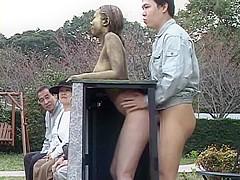 Best Japanese model Shino Nakamura, Sena Wakatsuki, Yurika Gotoh in Exotic Outdoor, Public JAV scene