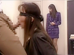 Incredible Japanese slut Nanako Sakurazawa, Miharu Ono, Yuki Tazaki in Horny Office, Vintage JAV clip