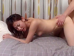 Hottest Japanese chick Izumi Mizusaki in Amazing Small Tits, Couple JAV movie