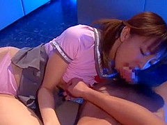 Best Japanese chick An Mashiro in Exotic POV JAV video
