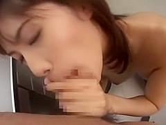 Exotic Japanese girl Riko Tachibana in Hottest Office, Cunnilingus JAV video