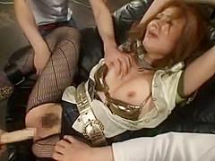 Crazy Japanese chick Hibiki Otsuki in Exotic Toys, Blowjob JAV movie