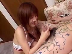 Hottest Japanese chick Rin Nonomiya in Amazing Blowjob, POV JAV video