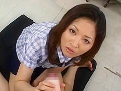 Best Japanese girl Yuki Toma in Hottest Footjob, Cougar JAV video