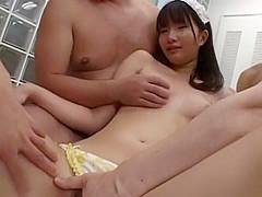 Exotic Japanese model Mirei Kazuha in Amazing Gangbang, Toys JAV movie