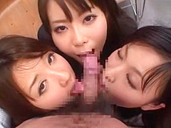 Crazy Japanese slut Ai Naoshima, Ryo Asaka, Aoi Buruma in Amazing Teens, Cumshot JAV scene