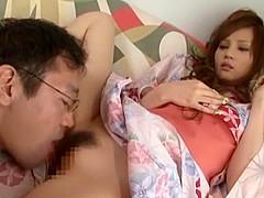 Incredible Japanese chick Reina Yuuki, Tina Yuzuki, Akari Asahina in Hottest Cunnilingus, Couple JAV clip