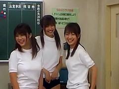 Exotic Japanese whore Riko Tachibana, Azumi Harusaki, Mei Itoya in Crazy Group Sex, Amateur JAV scene