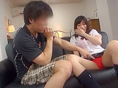 Hottest Japanese whore Ami Morikawa, Yuki Natsume, Miki Sunohara in Crazy Teens, Amateur JAV video