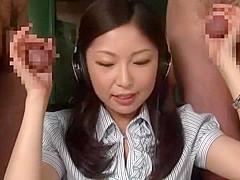 Horny Japanese model Ayumi Yano in Best Handjob, Threesome JAV movie