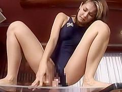 Amazing Japanese girl Maria Ozawa in Fabulous Masturbation, Amateur JAV scene