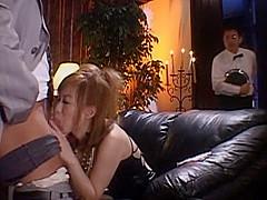 Incredible Japanese whore Hina Aizawa in Amazing Blowjob, MILF JAV video