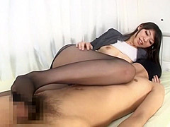 Horny Japanese girl Yuu Asou in Incredible POV, Foot Fetish JAV clip
