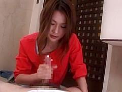 Amazing Japanese slut Mami Nagase in Crazy Amateur, Handjob JAV video