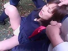 Crazy Japanese whore Yuu Shinoda, Haruna Nakayama, Tomoka Sakurai in Hottest Hardcore, Teens JAV clip