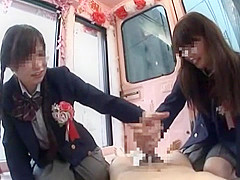 Amazing Japanese whore Chika Hiroko, Nanaka Kyono in...
