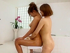 Incredible Japanese model Haruki Sato in Best Lesbian, Massage JAV video
