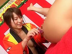 Crazy Japanese slut Kaho Kasumi in Amazing Public, Group Sex JAV scene