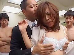 Fabulous Japanese slut Mio Amano in Incredible Big Tits, Office JAV scene