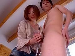 Incredible Japanese model Akari Asahina in Fabulous Couple, Handjob JAV movie