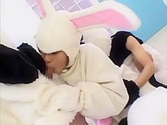 Amazing Japanese slut Natsumi Mitsu in Best Blowjob, Couple JAV scene