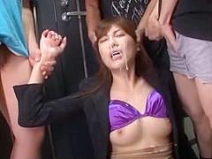 Exotic Japanese slut Nachi Sakaki, Saya Yukimi, Nao Mizuki in Crazy Small Tits, Blowjob JAV scene