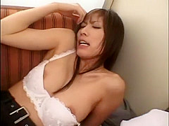 Exotic Japanese slut Riko Tachibana in Fabulous Lingerie, Creampie JAV video