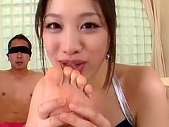 Best Japanese chick Miki Sunohara in Incredible Fetish, High Heels JAV movie