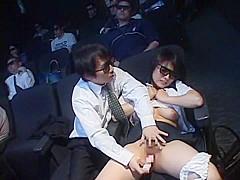 Hottest Japanese whore Akari Satsuki, Miharu Izawa, Minako Uchida in Crazy Big Tits, Stockings JAV scene