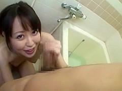Best Japanese whore Yuu Shinoda in Hottest Couple, Shower JAV clip