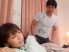 Incredible Japanese girl Anri Nonaka, Aiko Hirose in Hottest Couple JAV scene