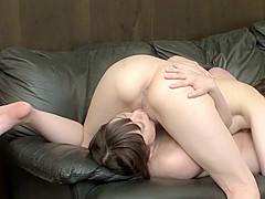 Crazy Japanese slut in Exotic HD, Lesbian JAV clip