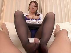 Horny Japanese girl in Fabulous Handjob, HD JAV clip
