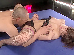 Fabulous Japanese slut in Hottest Cunnilingus, Small Tits JAV movie