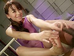 Hottest Japanese chick in Crazy Lingerie, HD JAV scene