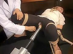 Horny Japanese girl in Fabulous Threesome, Fuck Machine JAV movie