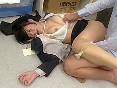 Best Japanese girl in Incredible Office, HD JAV clip