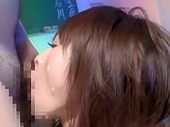 Best Japanese slut in Hottest Cumshot, CFNM JAV scene