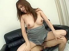 Fabulous Japanese girl in Horny Casting, Blowjob JAV scene