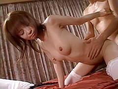 Amazing Japanese model in Best Stockings, Teens JAV video