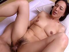Incredible Japanese whore in Fabulous Cougar, HD JAV movie