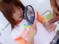 Amazing Japanese whore in Exotic Voyeur, Cumshot JAV video