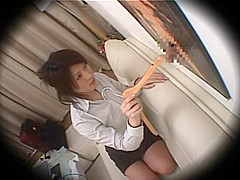 Horny Japanese girl in Fabulous Voyeur, Hidden Cam JAV scene