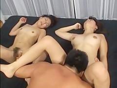Fabulous JAV censored xxx scene with incredible japanese girls