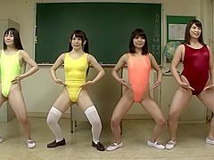 Fabulous Japanese girl in Exotic Stockings, MILF JAV video