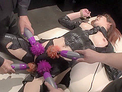 Horny Japanese whore in Best Threesome, Big Tits JAV clip