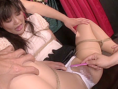 Hottest Japanese whore in Fabulous Amateur, Threesome JAV video